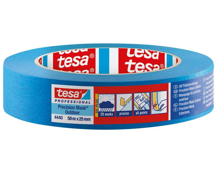 Tesa 4440 Präzisionskrepp Outdoor UV Plus | 25mm